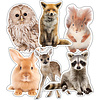 Carson Dellosa Woodland Animals Extra Large Cut-Outs*