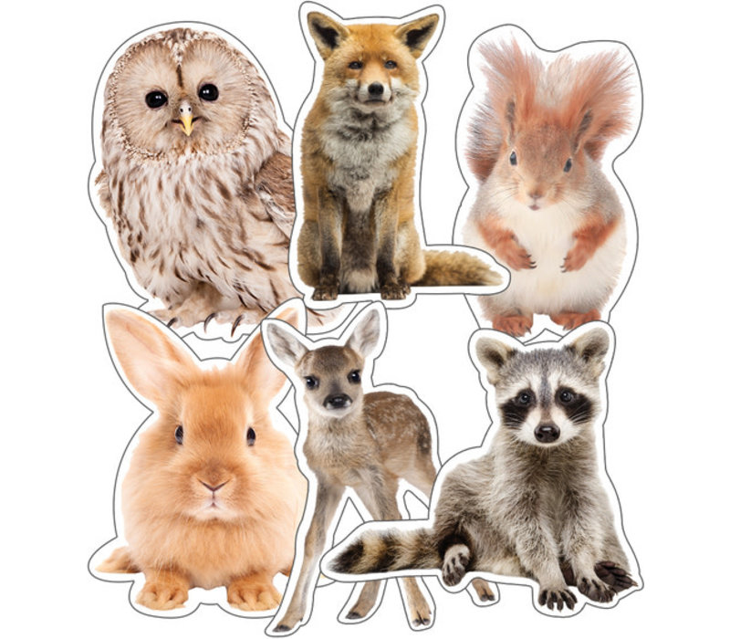 Woodland Animals Extra Large Cut-Outs*