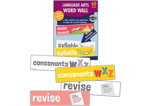 Carson Dellosa Language Arts Word Wall Learning Cards Grade K