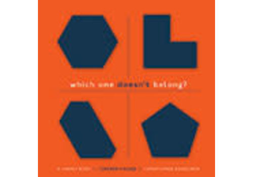 PEMBROKE PUBLISHING Which One Doesn't Belong?   A shapes book and teacher's guide *