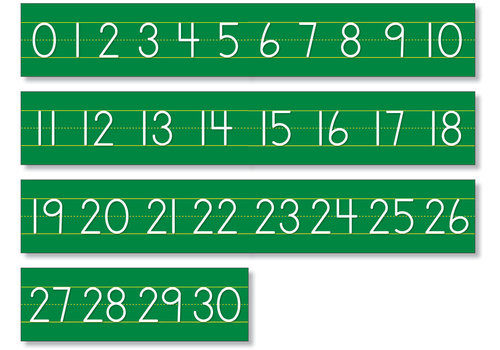 North Star Number Line - Counting 0 to 30