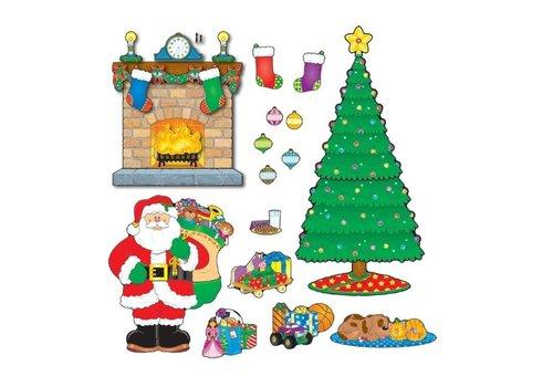 Carson Dellosa Christmas Scene Bulletin Board Set