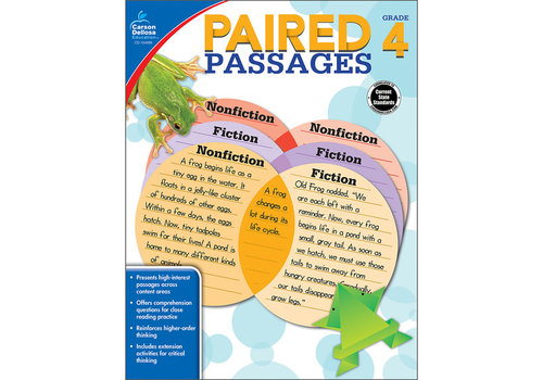 Carson Dellosa Paired Passages, Grade 4