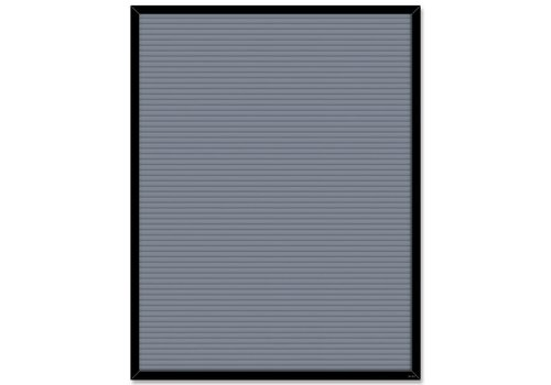 Creative Teaching Press Gray Blank Letter Board Chart