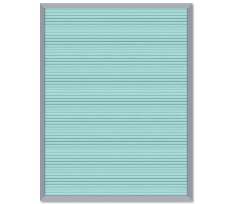 Turquoise Blank Letter Board