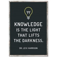 Knowledge is the light