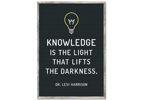 Creative Teaching Press Knowledge is the Light Poster*