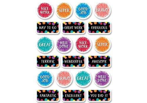 Creative Teaching Press Pom-Poms Rewards Stickers