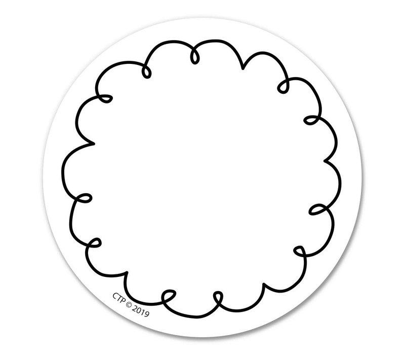 "Loop-de-loop 3"" Designer Cut-Outs"