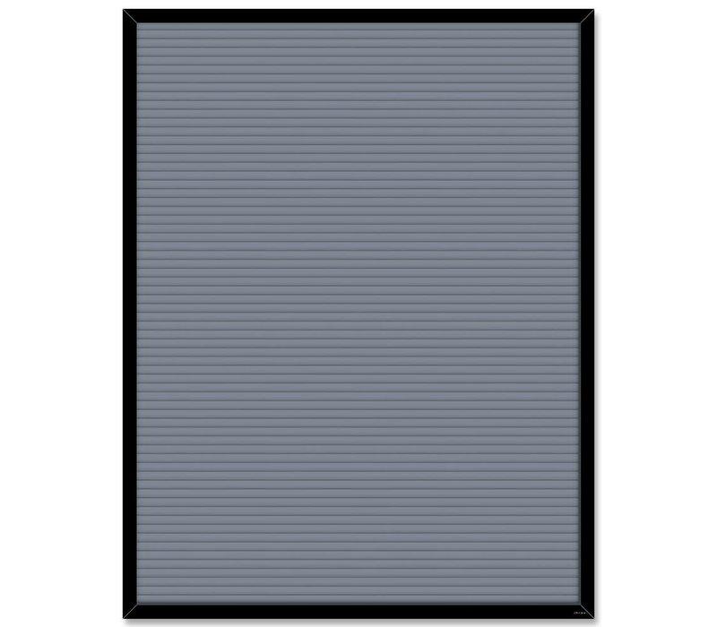 Grey Blank Letter Board