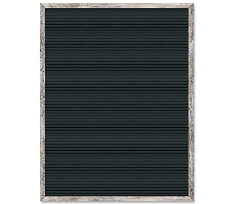 Black Blank Letter Board