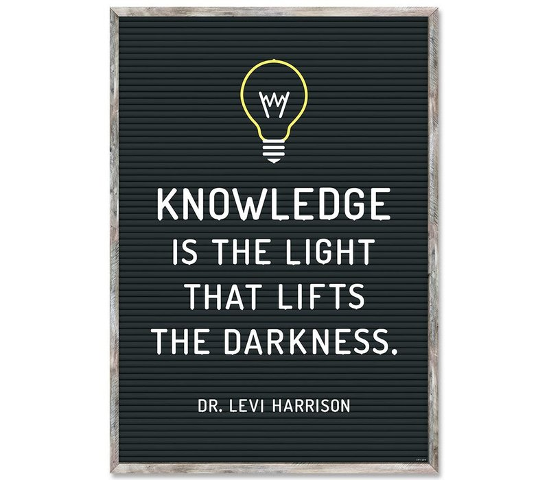Knowledge is the light...