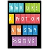 Creative Teaching Press Think like a proton... Peroidic Element Poster