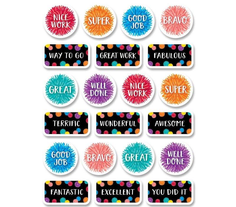 Pom-Poms Rewards Stickers