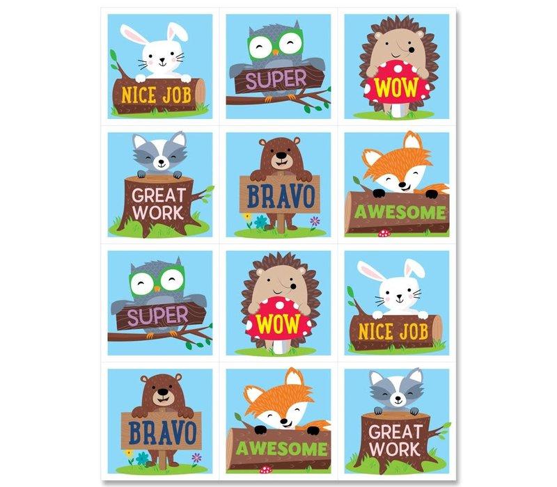 Woodland Friends Rewards Stickers