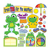 Carson Dellosa FUNky Frog Weather Bulletin Board Set