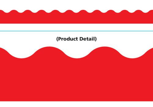 Trend Enterprises Red Scallop Trimmer *