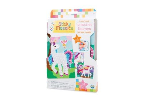 orb Sticky Mosaics Travel Pack - Unicorns
