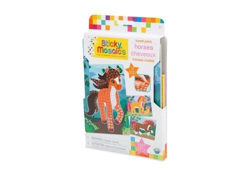 orb Sticky Mosaics Travel Pack - Horses