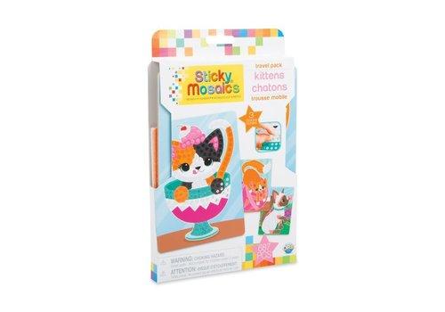 orb Sticky Mosaics Travel Pack - Kittens