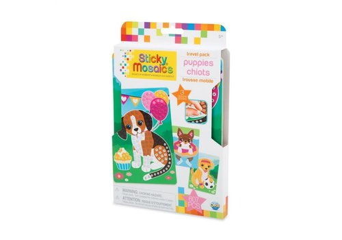 orb Sticky Mosaics Travel Pack - Puppies