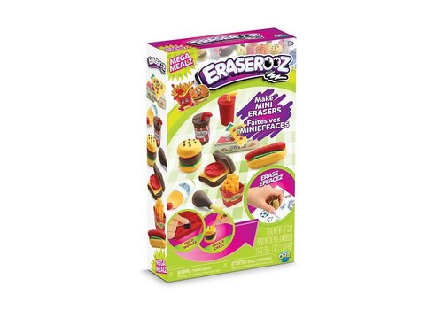 orb Eraserooz, Make Mini Eraser Set