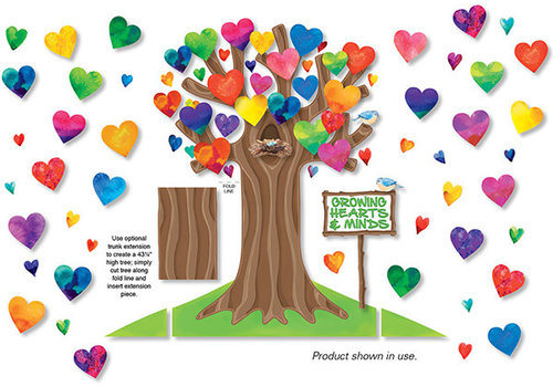 North Star Growing Hearts & Minds Bulletin Board Set