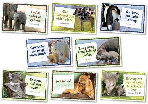 North Star God Cares for His Children Bulletin Board Set