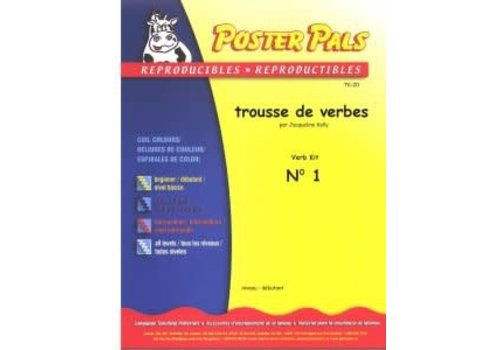 POSTER PALS Trousse de Verbes N1