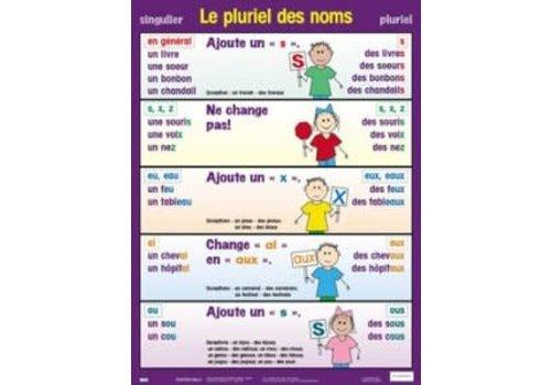 POSTER PALS Le pluriel des noms poster