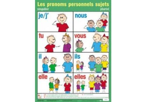 POSTER PALS Les pronoms personnels sujets
