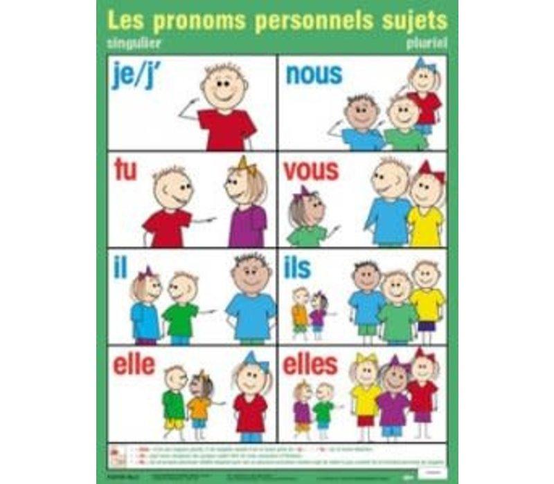 Les pronoms personnels sujets *