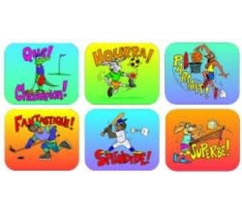 Sports French Stickers*