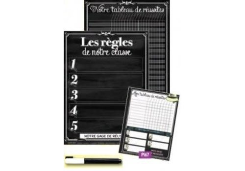 POSTER PALS My Classroom Rules & Tracking Pack