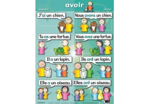 POSTER PALS Avoir poster