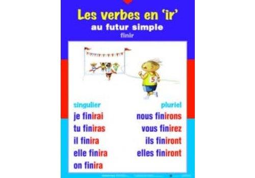 POSTER PALS Les verbes en er au futur simple
