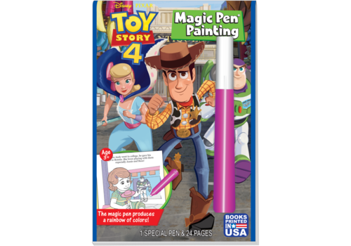 Lee Publications Toy Story 4 Magic Pen Painting