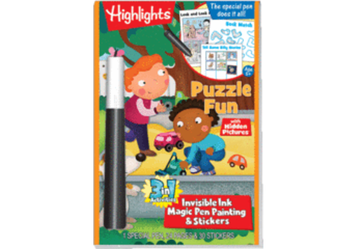 Lee Publications Highlights Magic Ink Fun - Puzzle Fun