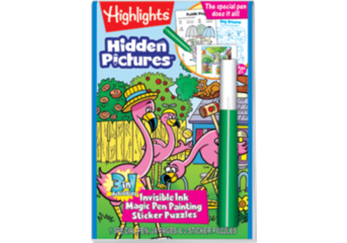 Lee Publications Highlights Magic Ink Fun - Hidden Pictures
