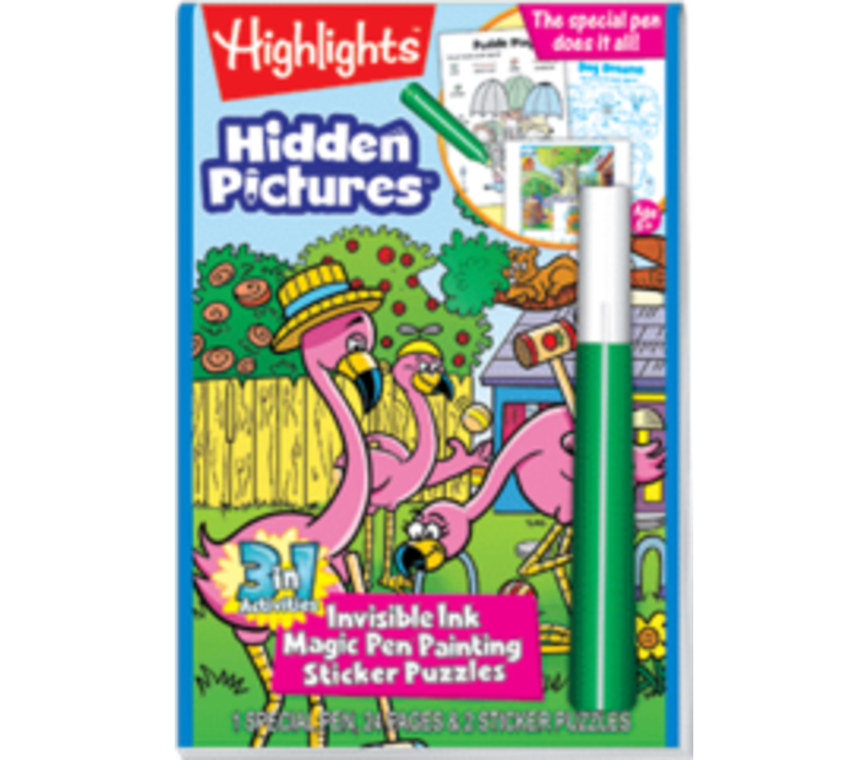 Highlights Magic Ink Fun - Hidden Pictures