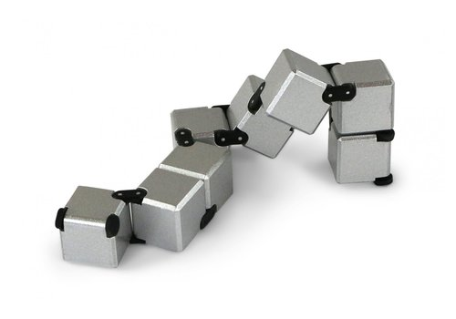 zorbitz Twiddle Cube - Silver