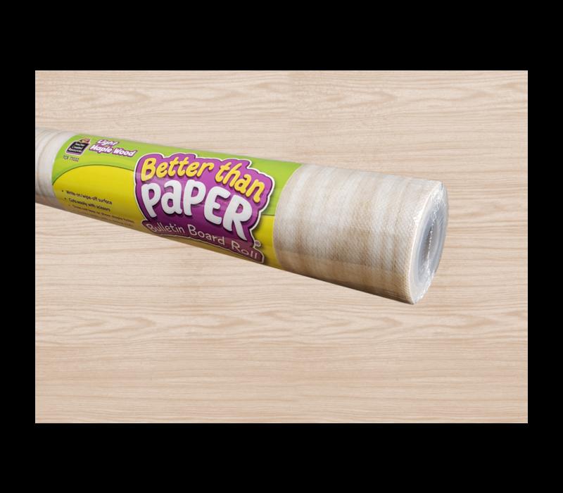 Better than Paper - Light Maple Wood Board Roll