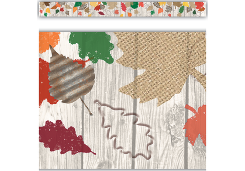 Teacher Created Resources Home Sweet Classroom Happy Fall Straight Border Trim*