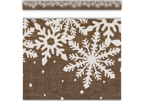 Teacher Created Resources Home Sweet Classroom Winter Straight Border Trim