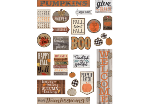 Teacher Created Resources Home Sweet Classroom Happy Fall Mini Bulletin Board Set