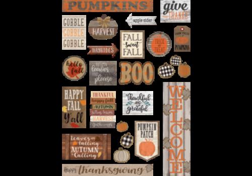 Teacher Created Resources Home Sweet Classroom Happy Fall Mini Bulletin Board Set *