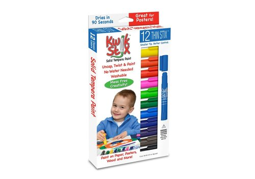 THE PENCIL GRIP COMPANY Kwik Stix 12 Thin Stix