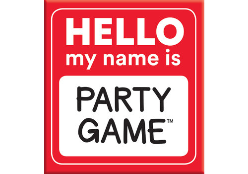 Gamewright Hello My Name Is-Party Game *