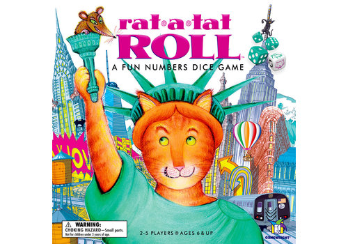 Gamewright Rat-a-Tat Roll