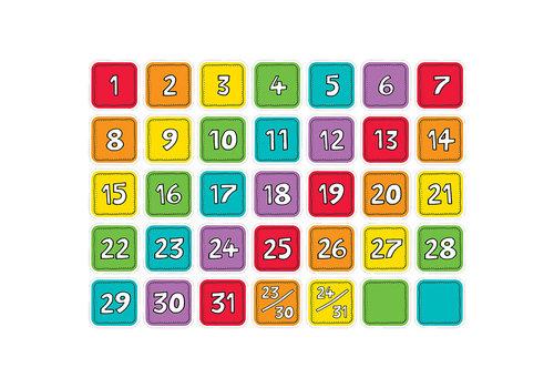 Creative Teaching Press Colourful Calendar Days